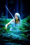 Het meisje van Amazonië Stock Foto
