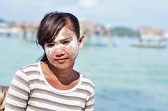 Het meisje van Bajaulaut royalty-vrije stock fotografie