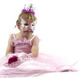 Het meisje van Carnaval royalty-vrije stock foto's