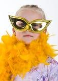 Het Meisje van Carnaval   Royalty-vrije Stock Foto
