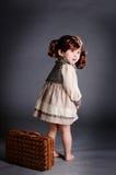Het meisje van China van jaren '20 met lugga Stock Afbeelding