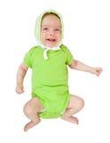 het meisje van de 2 maandbaby Stock Foto