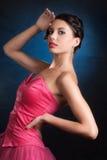 Het meisje van de aantrekkingskracht Royalty-vrije Stock Fotografie
