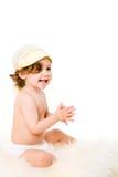 Het Meisje van de baby stock foto