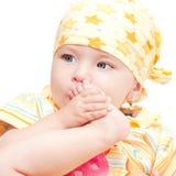 Het meisje van de baby Stock Fotografie