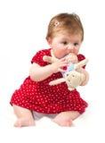 Het meisje van de baby Royalty-vrije Stock Afbeelding