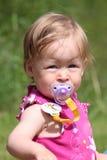 Het Meisje van de baby in Kleding Royalty-vrije Stock Afbeelding