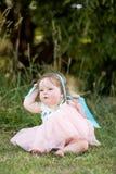 Het meisje van de baby in park Royalty-vrije Stock Foto