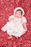 Het meisje van de Baby van de lente Stock Afbeelding