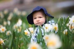 Het Meisje van de Baby van de lente Royalty-vrije Stock Foto