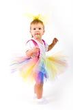 Het Meisje van de Baby van de tutu Royalty-vrije Stock Fotografie