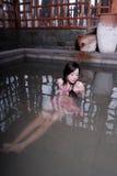 Het meisje van de bikini Stock Afbeeldingen