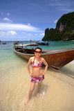 Het meisje van de bikini Royalty-vrije Stock Afbeeldingen