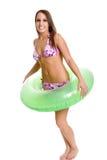 Het Meisje van de bikini stock foto