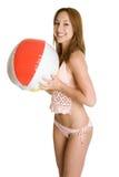 Het Meisje van de bikini Stock Foto's
