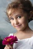 Het Meisje van de bloem royalty-vrije stock fotografie