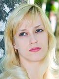 Het meisje van de blonde Royalty-vrije Stock Fotografie