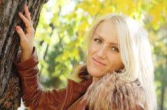 Het meisje van de blonde Royalty-vrije Stock Foto