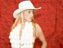 Het meisje van de cowboy Royalty-vrije Stock Afbeelding