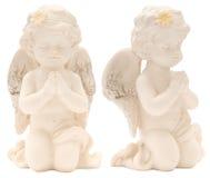 Het meisje van de Cupido van royalty-vrije stock foto
