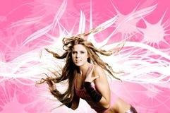 Het meisje van de danser Stock Fotografie