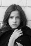 Het Meisje van de droefheid royalty-vrije stock foto's