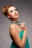 Het meisje van de glamour Royalty-vrije Stock Fotografie