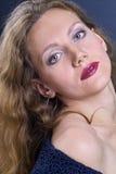 Het meisje van de glamour royalty-vrije stock afbeeldingen