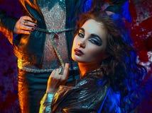 Het meisje van de Glamrots royalty-vrije stock fotografie