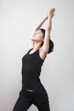 Het meisje van de gymnastiek Royalty-vrije Stock Fotografie
