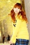 Het meisje van de herfst. Royalty-vrije Stock Foto's
