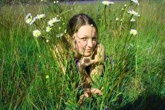 Het meisje van de jeugd Stock Afbeelding