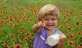 Het meisje van de lente Royalty-vrije Stock Fotografie