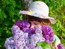 Het meisje van de lente Royalty-vrije Stock Foto