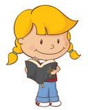 Het Meisje van de lezingsbijbel Royalty-vrije Stock Afbeelding
