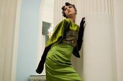 Het meisje van de luxe Stock Foto