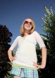 Het Meisje van de manier Stock Foto
