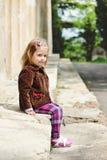 Het meisje van de manierpeuter Royalty-vrije Stock Fotografie