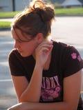 Het Meisje van de middelbare school Stock Foto