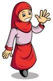 Het meisje van de moslim Stock Fotografie