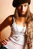 Het Meisje van de Partij van de aantrekkingskracht Royalty-vrije Stock Foto