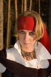 Het meisje van de piraat Royalty-vrije Stock Foto