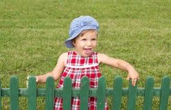 Het meisje van de plattelandsbaby Royalty-vrije Stock Foto