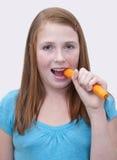 Het Meisje van de roodharige stock fotografie