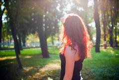 Het meisje van de roodharige Royalty-vrije Stock Fotografie