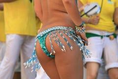 Het meisje van de samba Stock Foto's