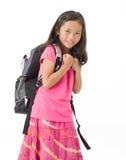 Het Meisje van de school Stock Foto