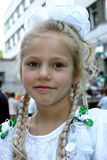 Het meisje van de school Royalty-vrije Stock Afbeelding