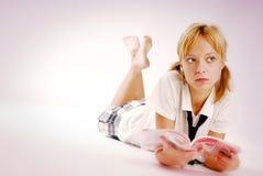Het meisje van de school Royalty-vrije Stock Fotografie