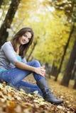 Het meisje van de schoonheid Stock Fotografie